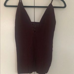 Free People intimates, size M/L criss cross front
